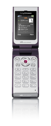The Sony Ericsson W380 Walkman phone features Media Manager PC software for transferring music, photos, and videos between computer and phone.