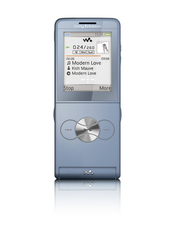 The Sony Ericsson W350 is a Walkman music phone with a flip design that lets users control music functions when it's closed.