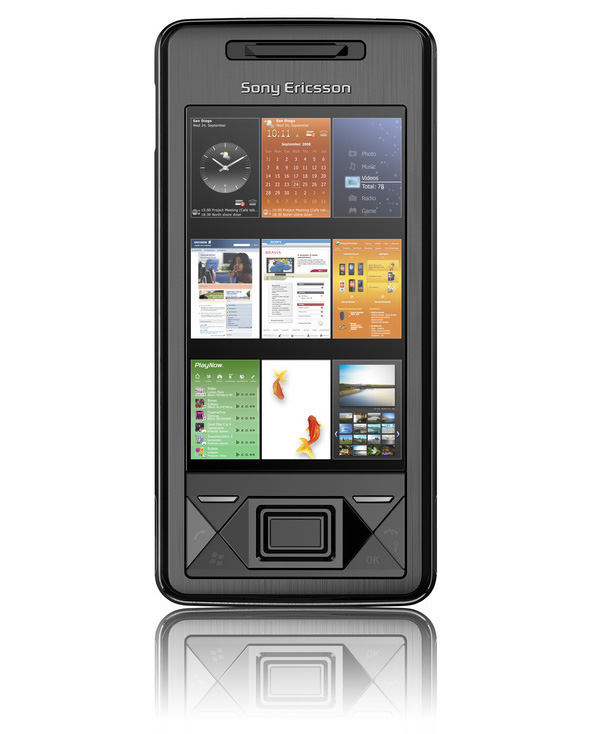 Sony Ericsson's Xperia X1 is a Windows Mobile smartphone with a touch screen overlay and a full QWERTY keyboard; the phone has 3G, aGPS, and Wi-Fi for a fast mobile experience.