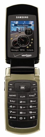 The Verizon Wireless Gleam may not be smart, but it's entertaining with a 