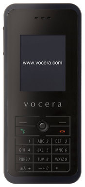 Vocera's T1000 Wi-Fi phone allows mobile workers to communicate over WLANs and can be shared among users instead of being designated to a specific person.