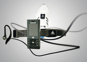 The Samsung-Adidas miCoach provides audio inspiration for the fitness minded.