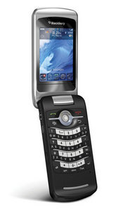The company's first clamshell smartphone features push e-mail, Wi-Fi, Bluetooth, and document editing.