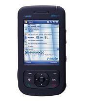 The i-Mate Jama 101 supports tri-band frequencies, sports a large screen, and runs the Windows Mobile 6 Professional OS.