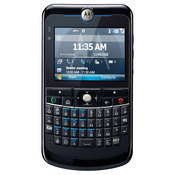 The Moto Q 11 is a Windows Mobile handset that has Wi-Fi, push corporate e-mail, assisted GPS, and Bluetooth.