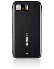 The Omnia features a 5-megapixel camera supports geotagging, and detects faces and smiles.