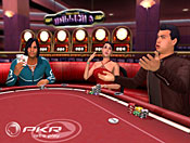 At PKR.com, players create their own avatars, complete with customized facial expressions and gestures to bring a real-life component to the game.