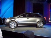 GM CEO Rick Wagoner at the Consumer Electronics Show introduced the Cadillac Provoq, a concept car powered by fuel cells. You won't be able to buy one for several years.
