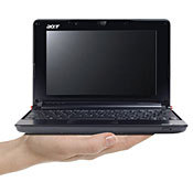 Acer's Mini-Laptop At Radio Shack