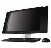 The all-in-one machine comes with Windows Vista Home Premium, 4 GB of memory, and a 320 GB hard drive.