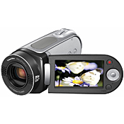 The camcorder features a 680,000-pixel image sensor that delivers a maximum resolution of 720 x 480 pixels.