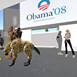 Election Night In Second Life