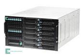 Designed for smaller businesses, Intel modular server building blocks can support up to six server compute nodes and 14 serial attached SCSI 2.5-inc hard disk drives.