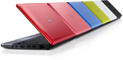 The ultra-portable features an Intel Atom processor, 1 GB of memory, an LED screen, and up to a 160 GB hard disk drive. The system ships with Windows XP, supports Wi-Fi and Bluetooth wireless technology and weighs 2.86 pounds with a three-cell battery.