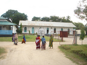 A general view of a clinic at Bagamoyo in Tanzania