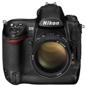 The Nikon D3 can shoot up to 9 frames per second -- ideal for fast-moving moments such as sports events.