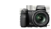 Sony Cyber-shot DSC-H9 has a shutter speed of 1/4000 second, for adeptly capturing fast movement or sports action.