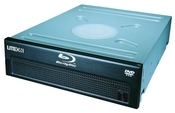 Install a Blu-ray drive like the Lite-On DH-401S. It's available for around $150, much less than you'd pay for a standalone Blu-ray player.