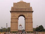 This beautiful arch was built in memory of the thousands of Indians who died in WWI.