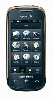 Samsung Instinct s30