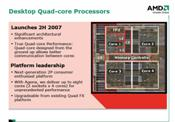 Phenom will be the official product name for AMD's Agena desktop quad core.