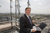 Anaheim's Mayor Pringle: Leave the headaches to someone else -- Photo by Gilles Mingasson/Getty Images