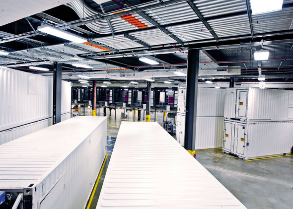 Microsoft's Chicago Data Center
