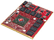 Advanced Micro Device's ATI FirePro M7740 graphics accelerator
