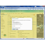 Screen Shot:  Microsoft Hotmail