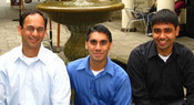 Dasient (from left to right: Ameet Ranadive, Neil Daswani, Shariq Rizvi) Photo by Dasient