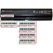 Faulty HP Laptop Batteries