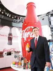 Jean-Michel Ar&#233;s, Coca-Cola