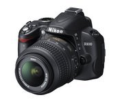 Nikon's D3000 is a solid, basic D-SLR. It features a split-second shutter response and VR image stabilization for sharp detail and shoots up to 3 frames per second. An on-board image editor lets you correct red eyes, apply filters, and adjust color balancing on-the-fly.