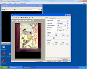 An instance of IrfanView running in XP Mode, sans desktop integration. It works, but it's a little clumsy to go back and forth between the virtual machine and the regular PC.