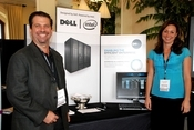 Dell was out in full force at the 2009 InformationWeek 500 conference.