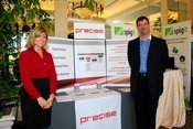 Precise Software is ready to talk with attendees about its application performance management products at its 2009 InformationWeek 500 booth.