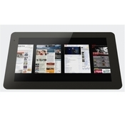 Fusion Garage's imminent tablet-like device weighs 2.4 lbs and has a 12.1-inch multi-touch capacitive screen.