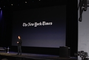 The New York Times also customized its app for the iPad.