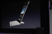 Apple's new iPad keyboard turns the device into something more like a laptop.