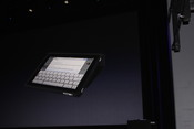 Apple also announced an iPad case that protects the device.