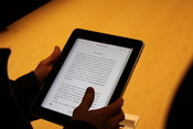 Up close: iBooks are easy to read and interact with.