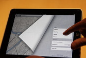 Up close: the iPad's user interface takes touch and multitouch further than we've seen before.