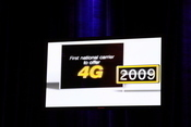 Sprint had a big presence at CTIA, as a keynote and touting its 4G service.