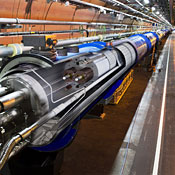 A cutaway image of the collider.