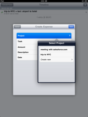 Cube for iPad lets users track expenses and time spent on 				projects quickly and easily.