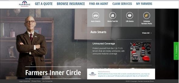 Farmers 'Inner Circle' Portal