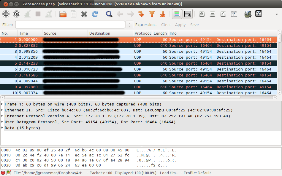Using Open Source Tools For Malware Detection | Network