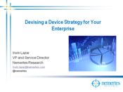 Slideshow: Devising a Device Strategy for Your Enterprise