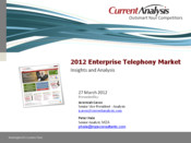 From the EC12 Vault: IP Telephony Market Report