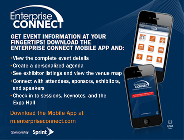 Download the Enteprise Connect Mobile App at m.enterpriseconnect.com